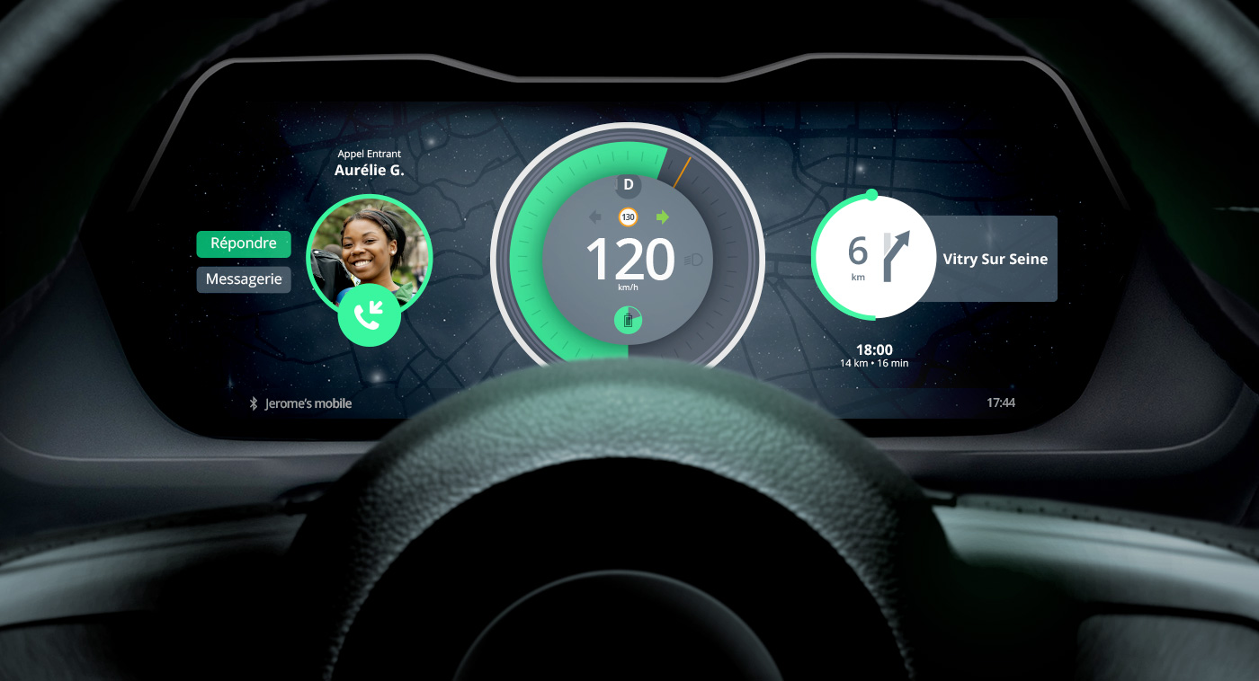 Dashboard Car UI